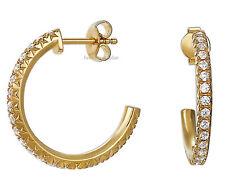 Esprit donna Creolen es-Brilliance GOLD eser 92327b000 Orecchini a Bottone Nuovo