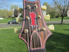 Prs Private Stock  Rare Starla Macassar Ebony Faded Fire Red Bigsby Knaggs 2008