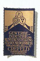 34171 Vignette Anuncio Comercial Industria Arte Exposición Krefeld 1911