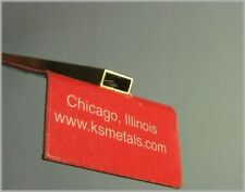 "K&S Engineering 8264 Rectangular Brass Tube 1/8"" X 1/4"" X 12"" (1 Piece)"
