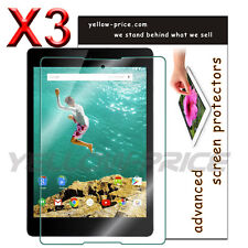 3x Premium JAPANESE FILM,High Definition Screen Protector for HTC Nexus 9 Tablet