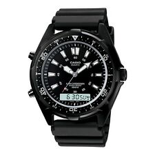 Casio AMW320B-1AV Mens Quartz Stainless Steel Analog / Digital Compass Watch
