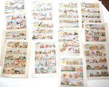 13 pages planches de PAT'APOUF détective  GERVY 1938/1972