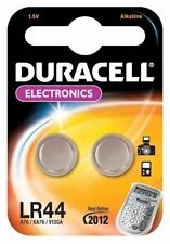 4 X Duracell 357 Lr44 Ag13 Sr44w Deben Ferret Terrier Finder Collar Batteries