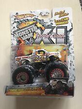 Hot Wheels Monster Jam Truck Spectraflames World Finals XI 2010 Las Vegas  CIB