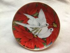 Collectible Plate - American Lung Association Christmas Doves Plate