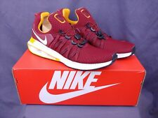 Nike Shox Gravity Mens AR1999-600 Team Red Gold White Running Shoes Size 12
