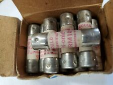 TRM10 SHAWMUT 10 AMP FUSES. BOX OF  10