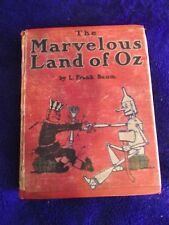 The Marvelous Land of Oz. L Frank Baum FIRST 1st EDITION H/C