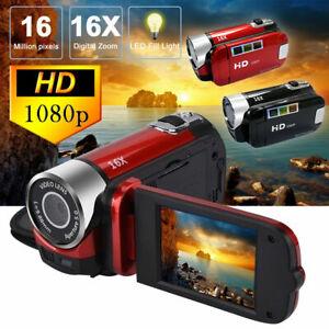 2.7 inch TFT LCD HD 1080P 16MP 16X Digital Zoom Camcorder Video DV Camera Focus