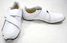 Puma Shoes Attaq Leather Strap White/Black/Limestone Gray Sneakers Size 10.5 EUR
