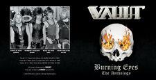 VAULT Burning Eyes The Anthology cd 80s dutch metal sad iron angus nwobhm vortex