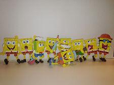 Spongebob Collectables Toy Gift Set 9 pc Minifigure 4-5 CM
