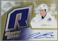 2015-16 Upper Deck SPX Jared McCann Canucks Gold Auto Patch /399 EX