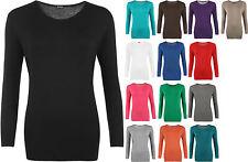 Markenlose Langarm Damen-T-Shirts