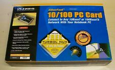 Great Condition Linksys PCMPC100 Version 2.0 Laptop Network Card With Box