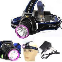 3000 Lumen X-XML T6 LAH rechargeable headlamp tête de la torche + AC Chargeur UP