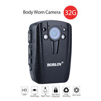 "BOBLOV HD31 2.0"" LCD Screen 1296P 32GB Infrared Video Recorder Body Worn Camera"