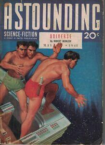 1941 Astounding Science-Fiction May-Heinlein; Asimov; Subcruiser; Extremely Rare