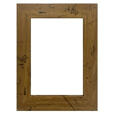 "Us Art Frames 1"" Flat Distressed Light Oak Mdf Wall Decor Picture Poster Frame"