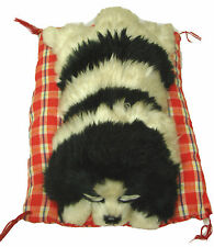 Large Sleeping Napping Lifelike Plush Dog Puppy on Pillow Collectable Toy SBW