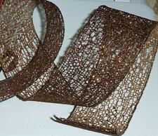 6 cm Wide-Sparkle Diamante Nastro di rifinitura Mesh Torta Decor CRAFTS ARTS 1 METRI
