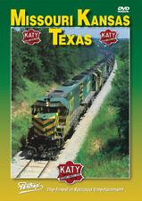 Missouri Kansas Texas Railroad KATY DVD Pentrex K-T Waggoner Crossing La Grange