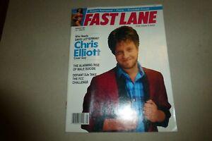 Fast Lane for Today's Man magazine August 1987 Chris Elliott from Schitt's Creek
