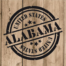 Vinilo de Corte Alabama Pegatina Alabama USA United States 10 cm Adhesivo Pared