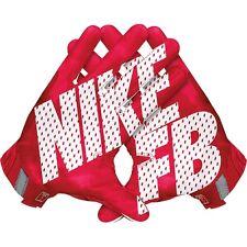"Nike VAPOR JET 3.0 Receiver Gloves RED GF0485 651 Adult Size MEDIUM 7.5~7.75"""