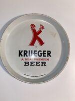 Vintage Krueger A Real Premium Beer Serving Tray