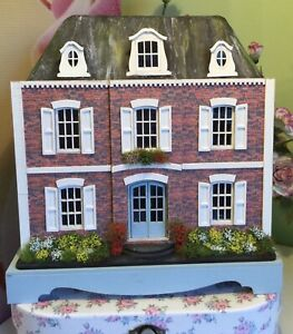 1:48, Handmade, Dolls House, French Style Mansion