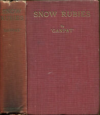Snow Rubies by Ganpat-UK First Edition-1925-Lost Race Novel