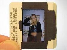 More details for original press promo slide negative - christina aguilera - 2000 - c