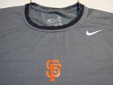 NIKE PRO San Francisco SF Giants MLB Baseball Shirt Spandex Fit Dry Mens Size XL