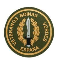 Parche redondo veterano boina verde COE GOE coser personalización militar