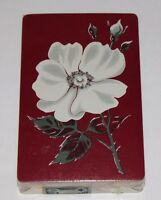 vintage sealed deck playing swap cards Hoyle PLAYING CARD TAX STAMP flower