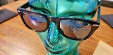 Palm Tree Novelty Mirror Sunglasses Classic Island Reflection Printed Lenses