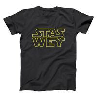Stas Wey Funny Spanish Mexican Black Basic Men's T-Shirt