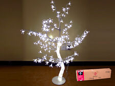 (18023) Árbol flor cerezo 192 led blanco 100cm