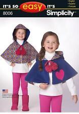 Female Child's Coat/Jacket Sewing Patterns