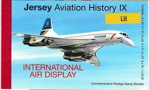 S35854 Jersey 2007 MNH Aviation History Booklet