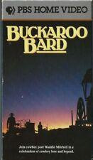 American Cowboy Collection - Buckaroo Bard (VHS, 1992) PBS VIDEO RARE OOP