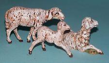 Fontanini Nativity, Sheep Family, 3 pc. set Nib, All Creatures Great and Small
