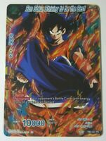 Son Goku, Striving to be the Best - Dragon Ball Super Card NM/M TB3-021 FR