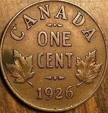 1926 CANADA SMALL CENT COIN PENNY