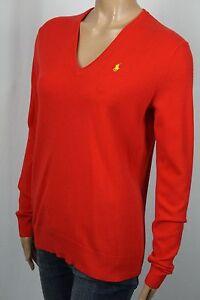 Ralph Lauren Blue Label Red Cashmere Crewneck Sweater NWT
