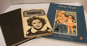 3 SHIRLEY TEMPLE BOOKS Collector Guide ID Clothes Pardella Movie Jeanine Basingr