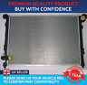 RADIATOR TO FIT MINI ONE COOPER R50 R52 WITH AIR CON STRAIGHT TOP HOSE FITTING