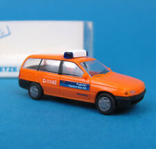 Rietze H0 50489 OPEL Astra Caravan Airport Security Frankfurt OVP HO 1:87 box